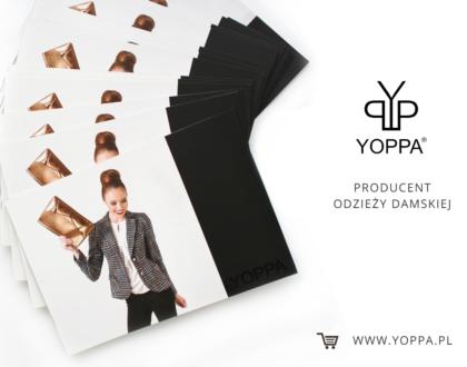Obsługa Fanpage Facebook producenta odzieży damskiej Yoppa